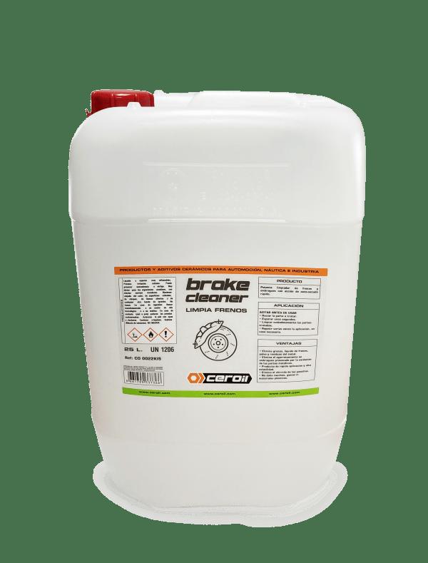 aditivos ceroil Aditivo limpiador de frenos - BRAKE CLEANER (25L)
