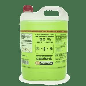 CEROIL Anticongelante 30 verde 5L