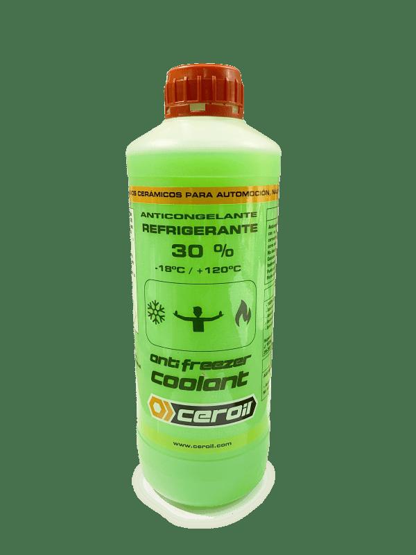 CEROIL Anticongelante verde 30% 1L
