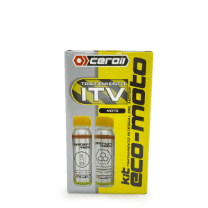 aditivos ceroil Kit Economizer Moto - Tratamiento Pre-ITV