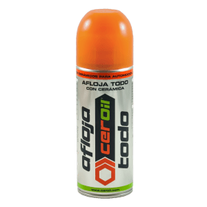Aditivo lubricante cerámico - Aflojatodo Spray (400ml)