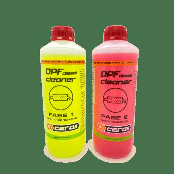 aditivos ceroil Kit Limpiador DPF 2 Fases