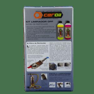 aditivos ceroil Kit Limpiador Filtro Partículas - DPF Kit 2 Fases