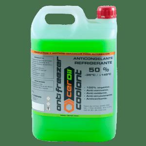 aditivos ceroil Anticongelante Refrigerante 50%