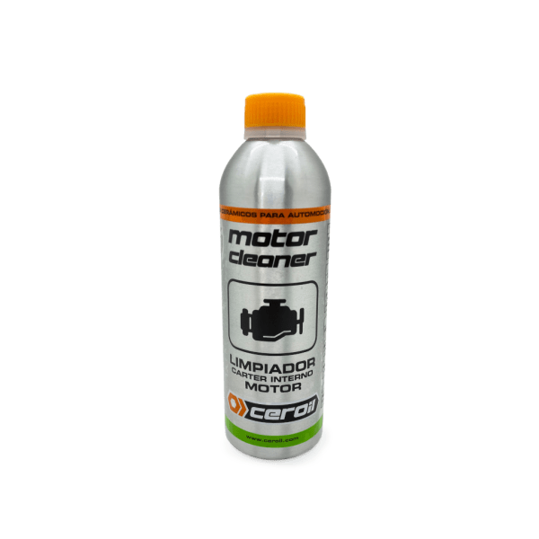 aditivos ceroil Limpiador cárter interno - MOTOR CLEANER (500ml)