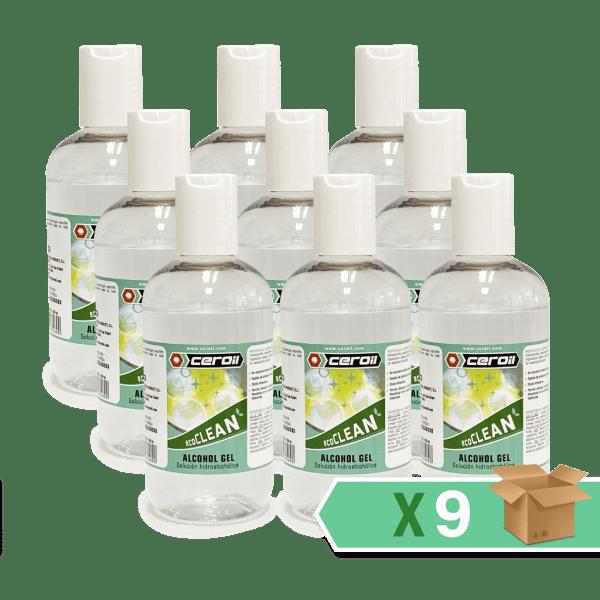 aditivos ceroil ECO CLEAN - Alcohol Gel 200ml - Caja 9